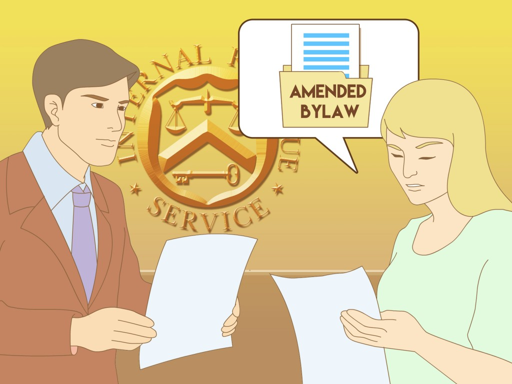 Amending the Bylaws